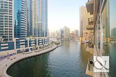 2 Bedroom Apartment for Sale in Dubai Marina, Dubai - Marina Views | Marina Quays North | Vacant