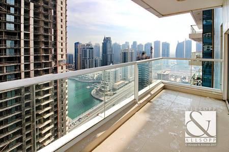 2 Bedroom Flat for Sale in Dubai Marina, Dubai - Partial Marina View | Corner Unit | Vacant