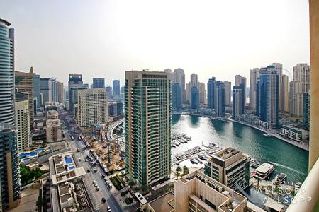 4 Bedroom Flat for Sale in Dubai Marina, Dubai - Marina View | Vacant | Lower Penthouse