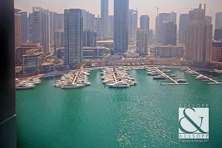2 Bedroom Apartment for Sale in Dubai Marina, Dubai - 2 Bed plus Study | Vacant | Marina View