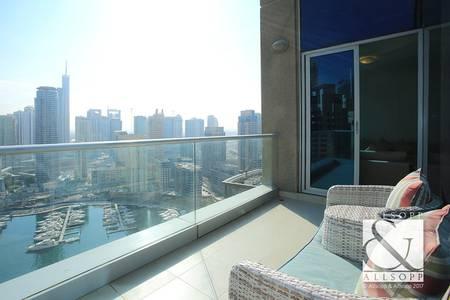 3 Bedroom Flat for Sale in Dubai Marina, Dubai - Vacant | High Floor | Full Marina Views