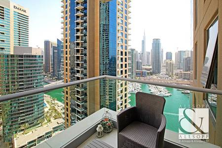 1 Bedroom Flat for Sale in Dubai Marina, Dubai - Marina View | Vacant on Transfer | Upgraded