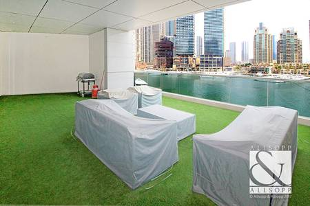 3 Bedroom Apartment for Sale in Dubai Marina, Dubai - Large Private Terrace | Full Marina View
