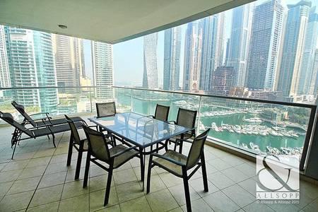 3 Bedroom Apartment for Sale in Dubai Marina, Dubai - Vacant  | 3 Bedrooms  | Full Marina View