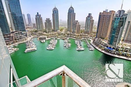 3 Bedroom Flat for Sale in Dubai Marina, Dubai - Full Marina View | Vacant | Three Bedroom