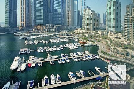 2 Bedroom Flat for Sale in Dubai Marina, Dubai - Maids and Storage   Vacant   Full Marina View