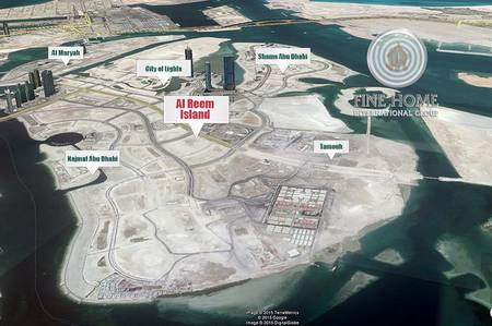 Plot for Sale in Al Reem Island, Abu Dhabi - 2 Big Commercial Lands in Al Reem Island