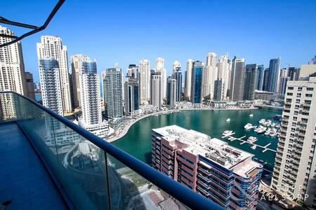 3 Bedroom Apartment for Rent in Dubai Marina, Dubai - 3 Bedrooms | Plus Maids | Full Marina Views
