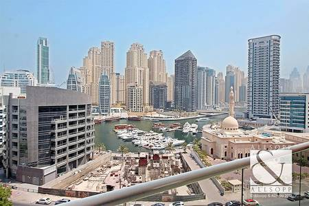 3 Bedroom Flat for Sale in Dubai Marina, Dubai - Marina Views | Maids Room | Large 3 Bed