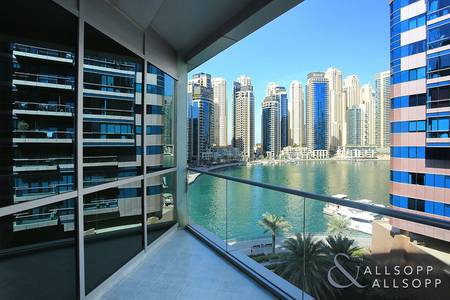 1 Bedroom Flat for Sale in Dubai Marina, Dubai - Vacant | Partial Marina Views | One Bed