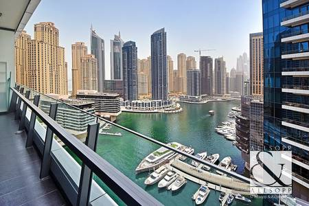 2 Bedroom Flat for Sale in Dubai Marina, Dubai - Exclusive   Two Bedrooms   Marina Views