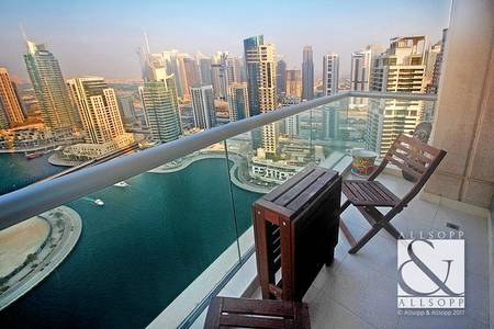 1 Bedroom Apartment for Sale in Dubai Marina, Dubai - Best Marina View   Vacant   Motivated Seller