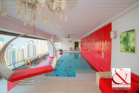 4 Bedroom Penthouse for Sale in Dubai Marina, Dubai - Penthouse | Large Terrace | Marina View