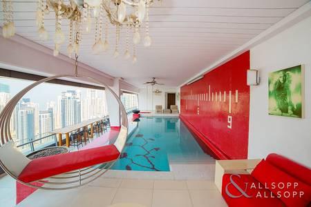 4 Bedroom Penthouse for Rent in Dubai Marina, Dubai - Penthouse | Large Terrace | Marina Views