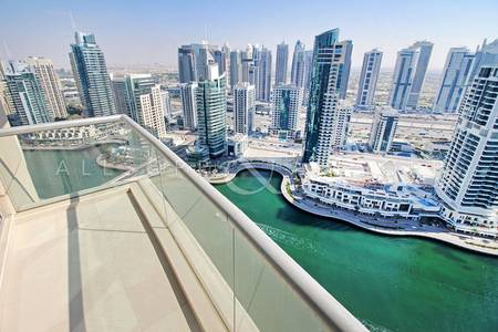 2 Bedroom Apartment for Sale in Dubai Marina, Dubai - High Floor   2 Balconies   Marina Views