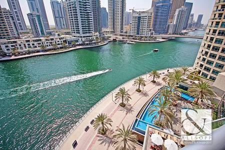2 Bedroom Flat for Sale in Dubai Marina, Dubai - Full Marina View   Vacant    Best Layout