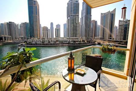 2 Bedroom Flat for Sale in Dubai Marina, Dubai - Full Marina View | Low Floor | Best Unit