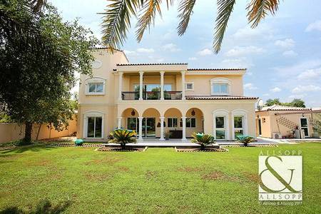 6 Bedroom Villa for Rent in Green Community, Dubai - Upgraded 6 Beds | Backs Park | Furnished