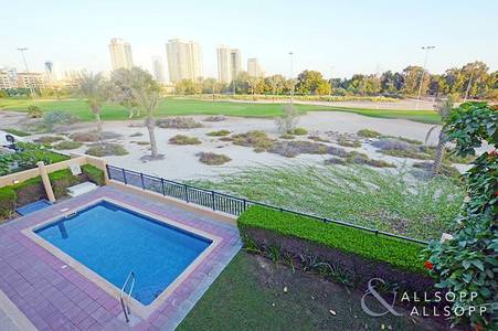 4 Bedroom Villa for Rent in Emirates Golf Club, Dubai - Private Pool | Stunning Golf Course View