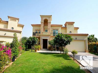 4 Bedroom Villa for Rent in Jumeirah Islands, Dubai - Corner Plot | Mediterranean | Extended |