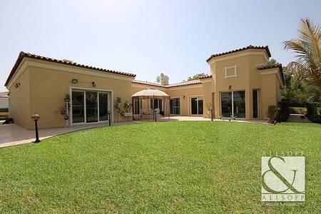4 Bedroom Villa for Sale in Green Community, Dubai - Immaculate Bungalow | Corner Plot | 4 Bed