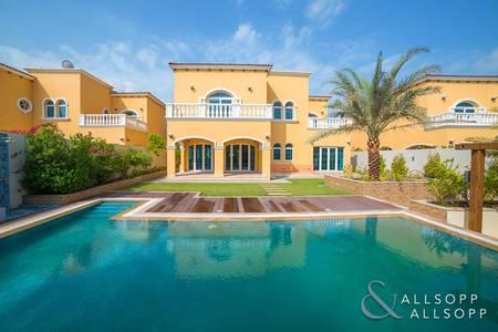5 Bedroom Villa for Sale in Jumeirah Park, Dubai - Facing Park | Upgraded Pool | District 2