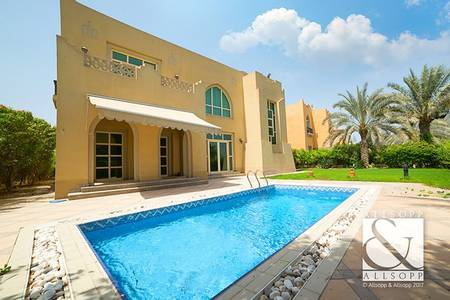 4 Bedroom Villa for Rent in Jumeirah Islands, Dubai - 4 Bedrooms | Well Maintained | Lake View