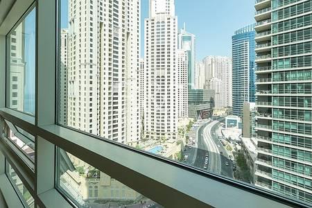 1 Bedroom Apartment for Rent in Dubai Marina, Dubai - Partial Marina view vacant First Week Jan