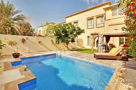 3 Bedroom Villa for Sale in The Springs, Dubai - EXCLUSIVE | Extended 3M with Private Pool