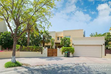 6 Bedroom Villa for Sale in The Meadows, Dubai - Skyline View | Corner Plot | Fully Upgraded