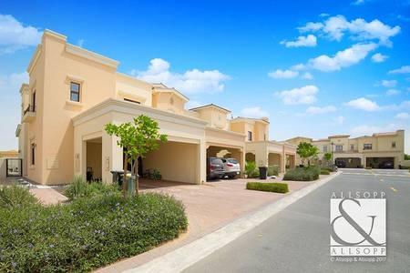 فیلا 3 غرفة نوم للبيع في ريم، دبي - Close To Park   Large Plot   Single Row