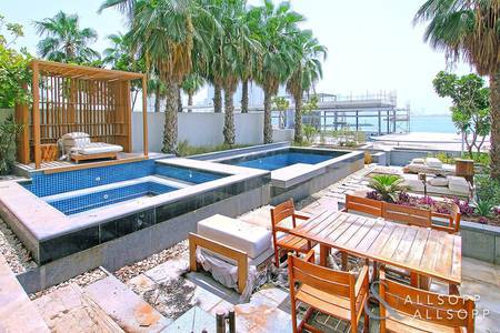 3 Bedroom Townhouse for Sale in Palm Jumeirah, Dubai - Extremely Rare | Townhouse | Private Garden