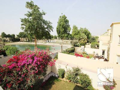 2 Bedroom Villa for Sale in The Springs, Dubai - Springs 4 | Lake & Pool View | 2 Beds 4E