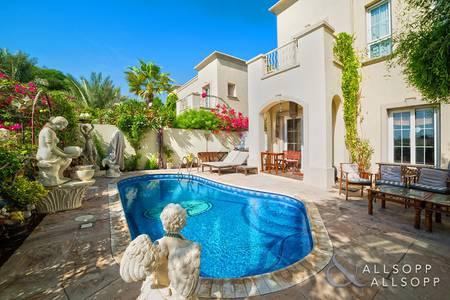 2 Bedroom Villa for Sale in The Springs, Dubai - Full Lake View | Private Pool | 2 Bedrooms