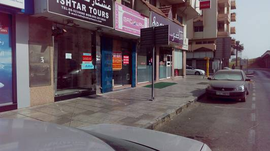 Shop for Rent in Rolla Area, Sharjah - Spacious shop for rent in al arooba street rolla sharjah