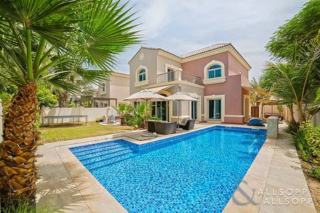 5 Bedroom Villa for Sale in Dubai Sports City, Dubai - C2 | Private Pool | Backing Estella Park