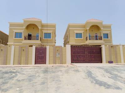 5 Bedroom Villa for Sale in Al Rawda, Ajman - One of the best villas very high area built large _ Super Deluxe finishing_ Excellent location_All r