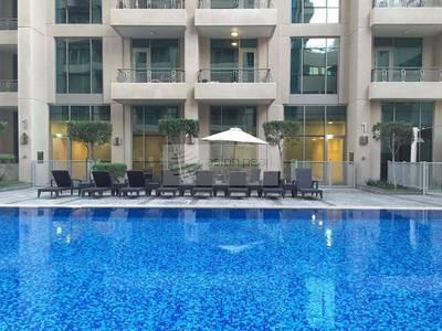 فلیٹ 1 غرفة نوم للايجار في دبي وسط المدينة، دبي - Vacant 1 BR with Vida and Old Town Views
