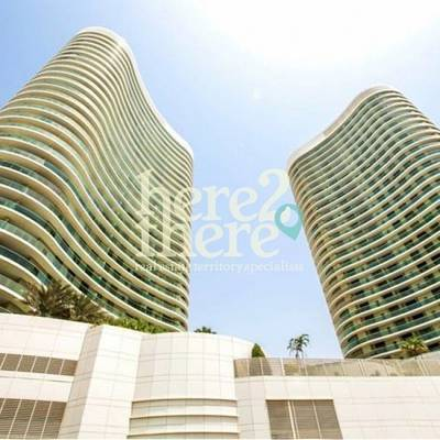2 Bedroom Flat for Rent in Al Reem Island, Abu Dhabi - Luxurious and Spacious 2BR in Beach Towers, Call Now.