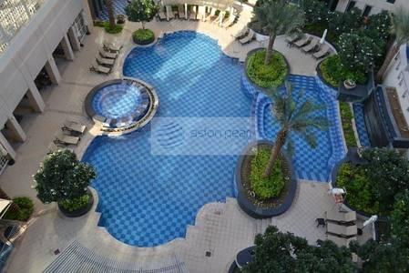 فلیٹ 1 غرفة نوم للايجار في دبي وسط المدينة، دبي - Vacant   1BR + Study   Burj Khalifa View