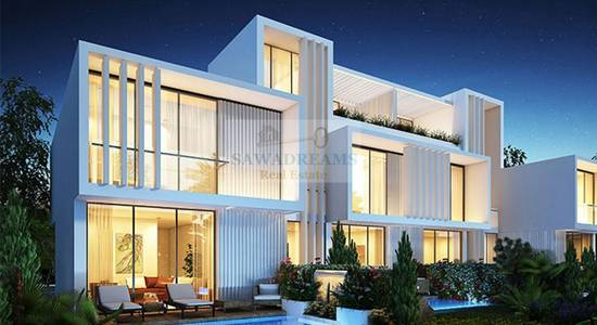 4 Bedroom Villa for Sale in Akoya Oxygen, Dubai - 100% OFF DLD. 4 years free service charge. Completion 2019.