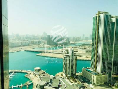 4 Bedroom Apartment for Sale in Al Reem Island, Abu Dhabi - HOT- Biggest 3+M+Study Room with Full Sea View!