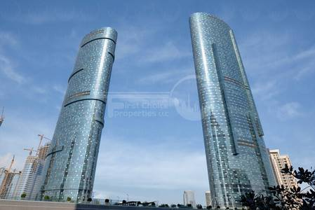 1 Bedroom Apartment for Rent in Al Reem Island, Abu Dhabi - Vacant!!3 Payments!!!High Floor Apartment!