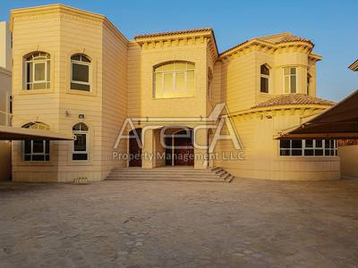 7 Bedroom Villa for Rent in Khalifa City A, Abu Dhabi - Stunning Standalone 7 Master Bed Villa in Khalifa City A!
