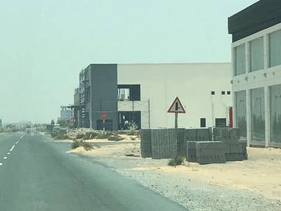 Plot for Sale in Al Jurf, Ajman - commercial land behind chines market in al jurf ( 8000 SQFT )
