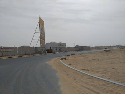 Plot for Sale in Al Jurf, Ajman - Commercial Land Behind Chines Market ( Al Jurf Area ) Without Fees To All Nationalities