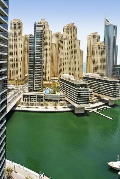 1 Bedroom Flat for Sale in Dubai Marina, Dubai - Silverene Tower B   High Floor   Marina View