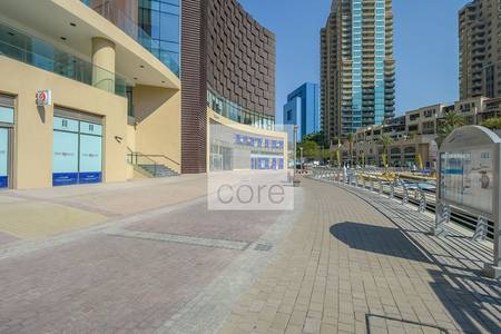 Shop for Rent in Dubai Marina, Dubai - Retail Space | Shell and Core | Low Floor