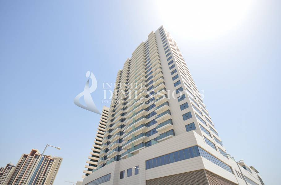 10 3BR with Sea view in Wave Tower for rent!
