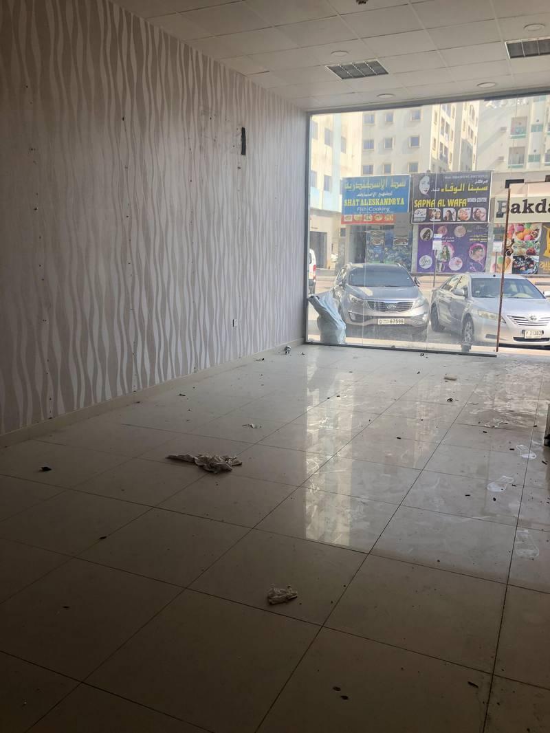 10 FOR RENT - SHOP- IN AJMAN NUAIMYAH- KUWAIT STREET IN  VERY GOOD AREA